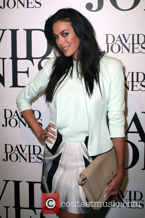 Megan Gale The David Jones department store holds...
