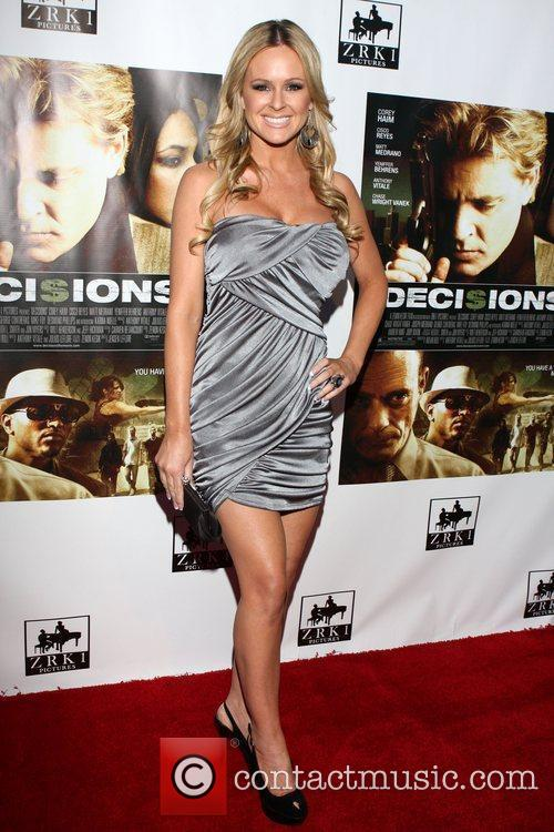 Katie Lohmann Premiere of 'Decisions' and a Memorial...