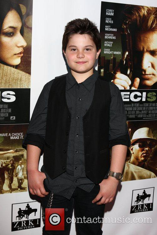 Zach Callison Premiere of 'Decisions' and a Memorial...
