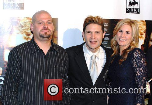 Jarrod Schulz, Corey Feldman and Brandi Schulz Premiere...