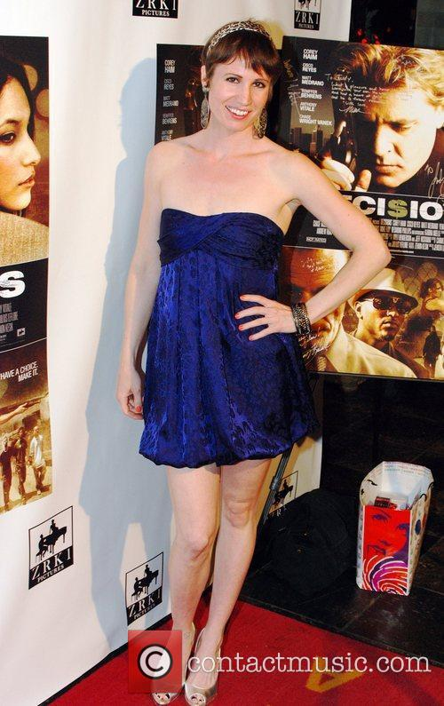 Emma Zerner  Premiere of 'Decisions' and a...