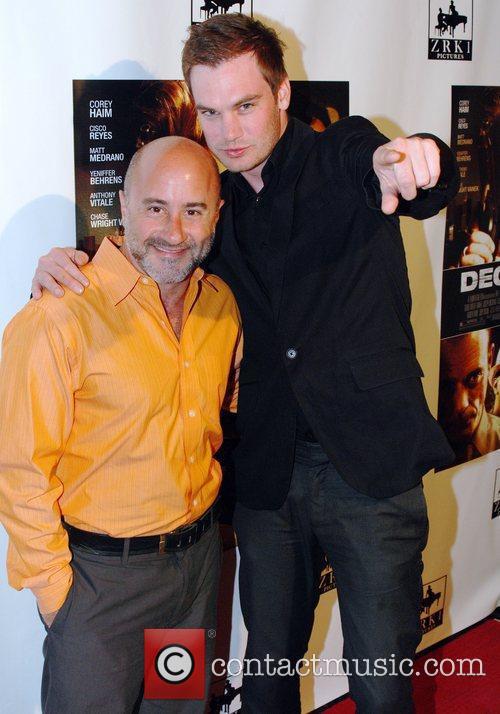 John Bonny and Desmond Phillips Premiere of 'Decisions'...