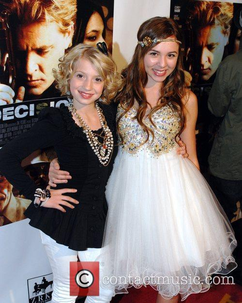 Madison Leisle and Camryn Molnar Premiere of 'Decisions'...