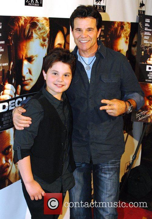 Zach Callison and Ed Callison Premiere of 'Decisions'...