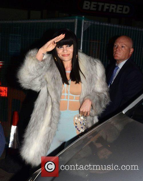 Jessie J  UK film premiere of 'Demons...