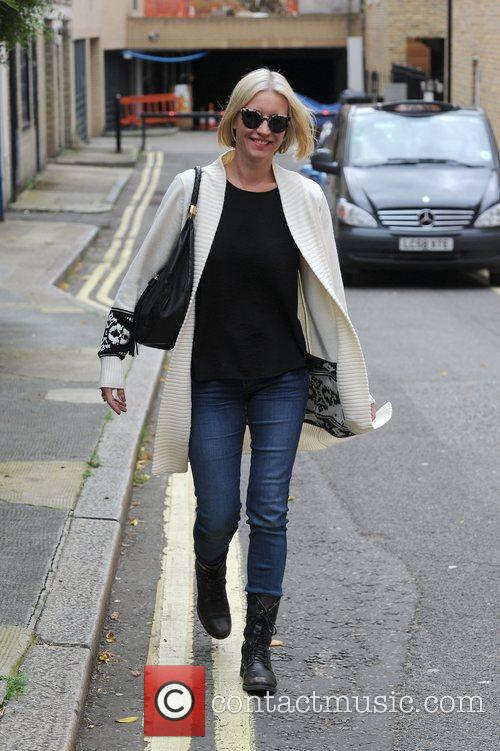 Denise Van Outen leaving Smooth FM Radio Station,...