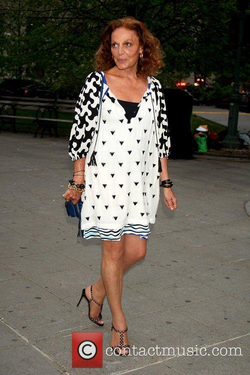 Diane von Furstenberg  at the Tribeca Film...