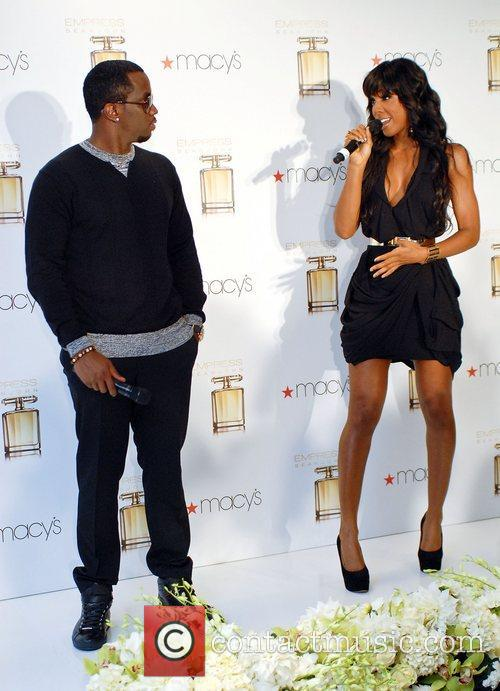 Diddy aka Sean Combs and Kelly Rowland attend...
