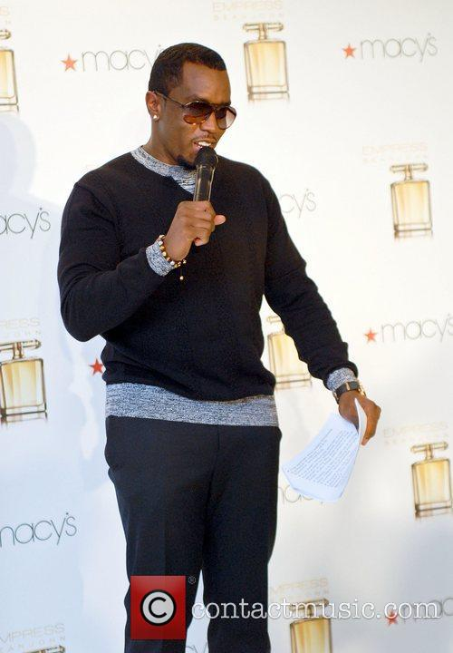 Diddy aka Sean Combs attends the launch of...