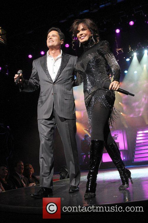 Donny and Marie celebrate their 500th show