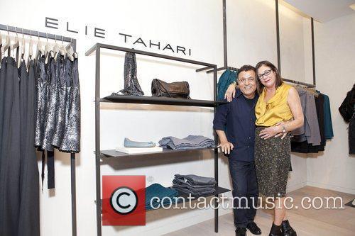 Elie Tahari & Stephanie Soloman street shop launch...
