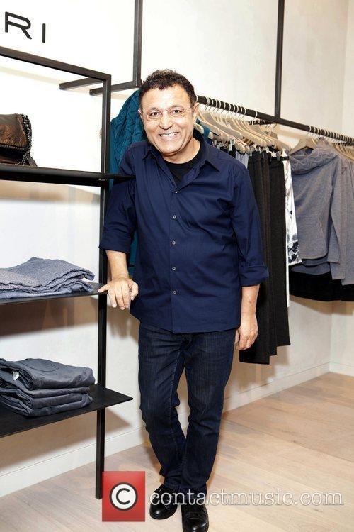 Elie Tahari at Bloomingdales street shop launch event...