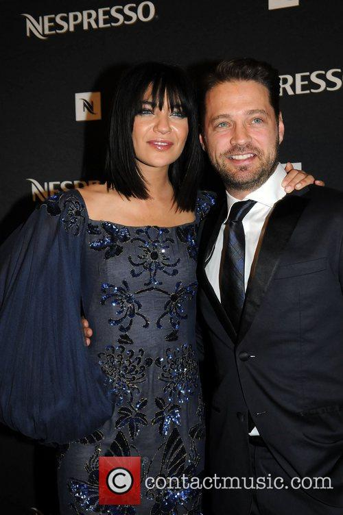 Jessica Szohr, Jason Priestley and Emmy Awards 2
