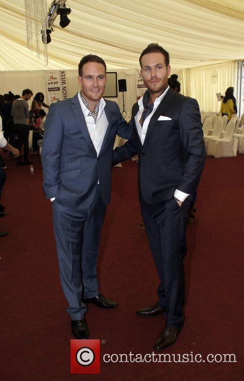 Adam and Simon Ryan  Essex Fashion week...