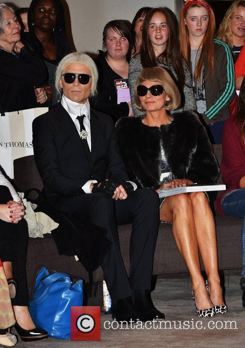 Karl Lagerfeld and Anna Wintour 5