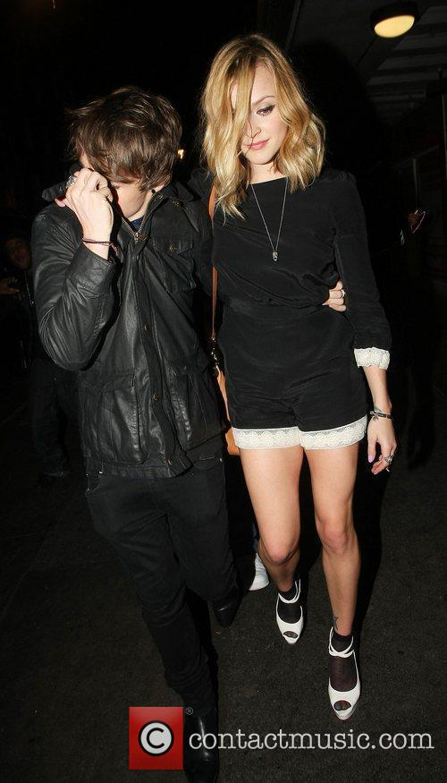Fearne Cotton leaving Box nightclub with a friend....