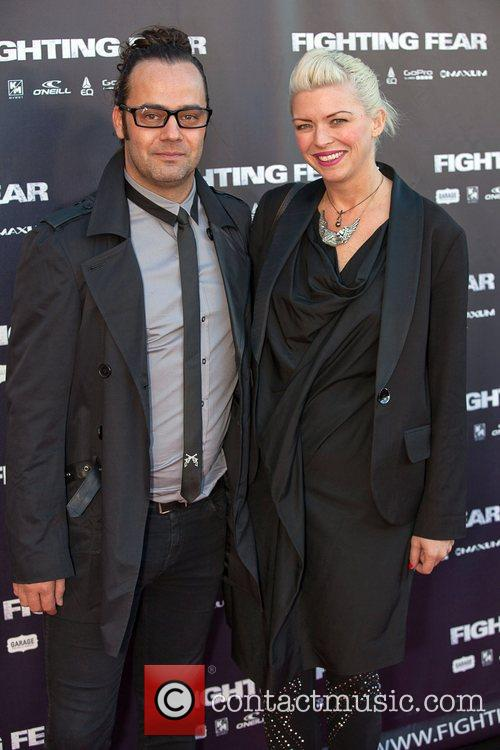 Guests The World Premiere of 'Fighting Fear' held...