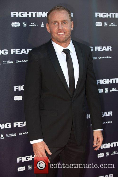 Mark Mathews The World Premiere of 'Fighting Fear'...