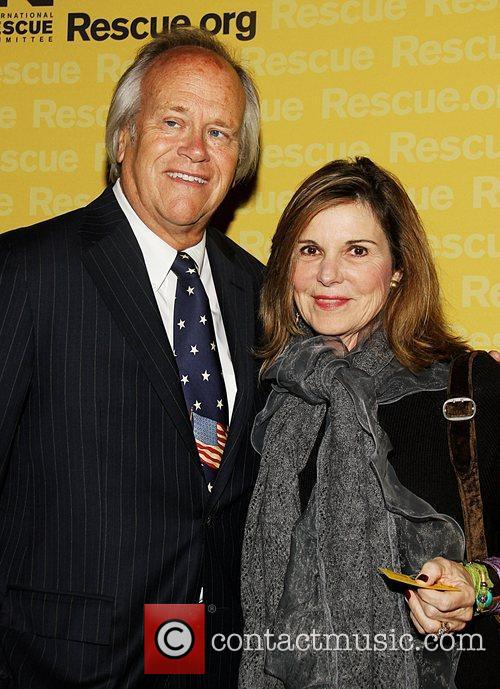 Dick Ebersol and Guest  the International Rescue...