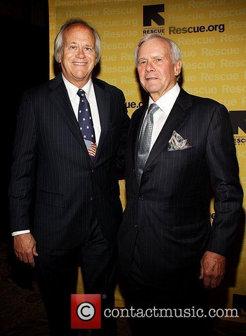 Dick Ebersol and Tom Brokaw  the International...