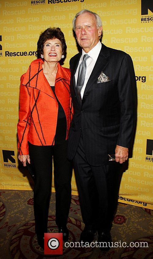 Meredith Brokaw and Tom Brokaw  the International...