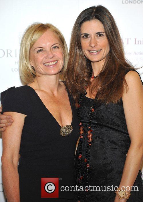 Mariella Frostrup and Livia Giuggioli G.R.E.A.T. - launch...