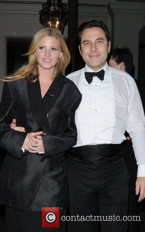David Walliams and Lara Stone 4