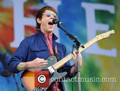 Brother Performing live at The 2011 Glastonbury Music...