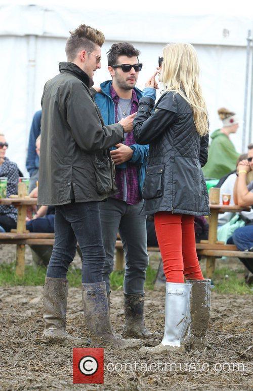 Henry Holland Celebrities at The 2011 Glastonbury Music...