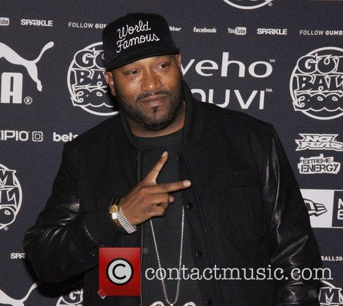 Bun B arriving at the Gumball 3000 launch...