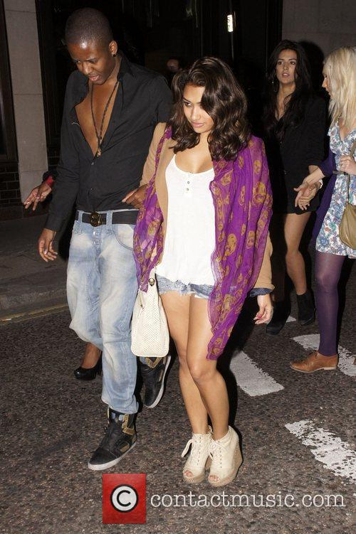 Vanessa White leaving the Gumball 3000 launch party...