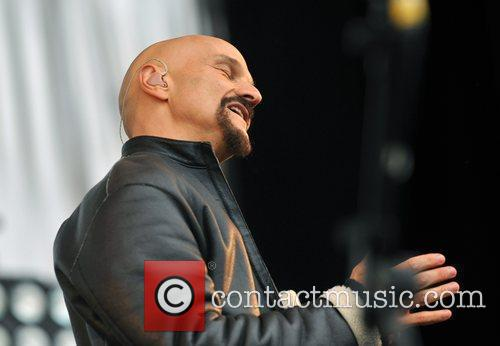 Tim Booth of 'James' Hard Rock Calling held...