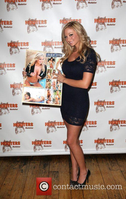 2012 Hooters Calendar Worldwide Release Party at NYC...