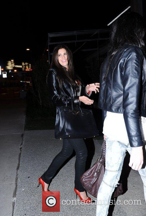 Hope Dworaczyk arriving at BOA steakhouse Los Angeles,...