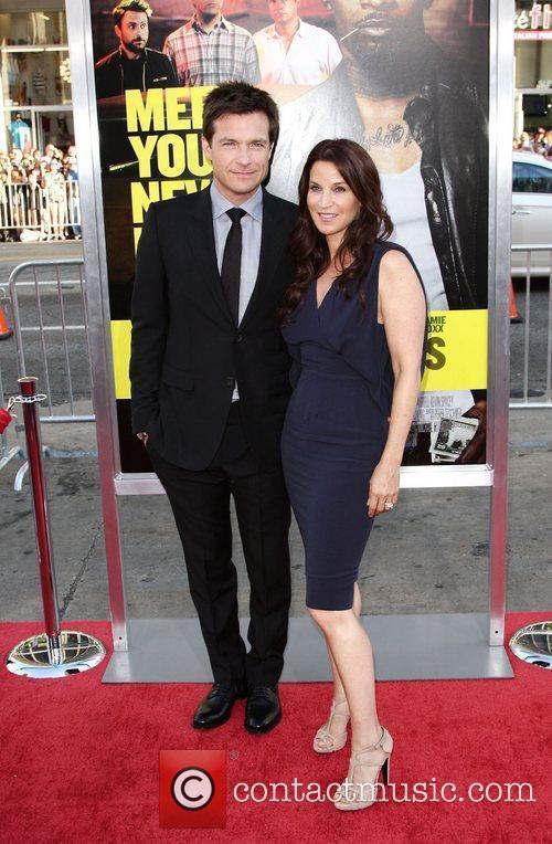 Jason Bateman and Amanda Anka Los Angeles Premiere...