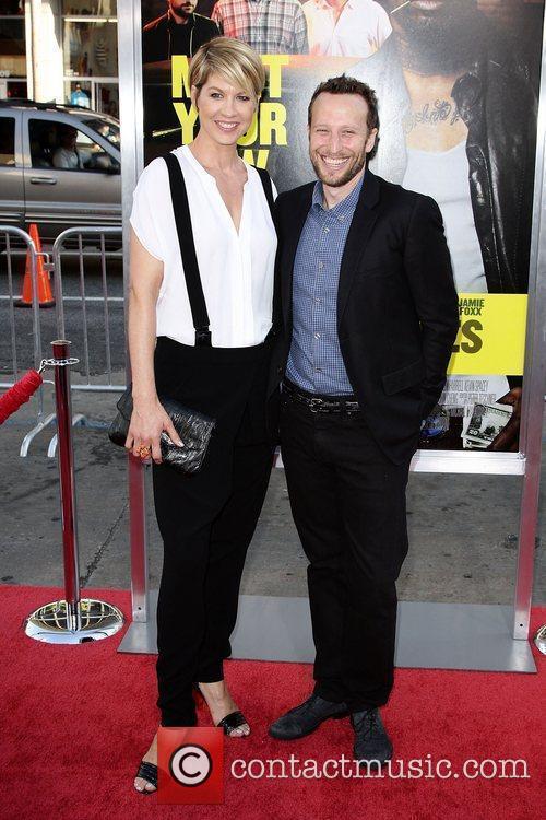 Jenna Elfman and Bodhi Elfman Los Angeles Premiere...