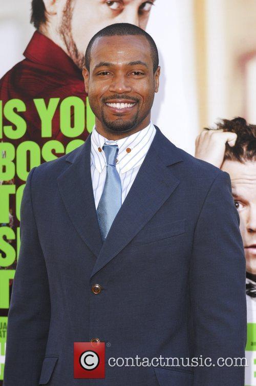 Isaiah Mustafa  Los Angeles Premiere of Warner...