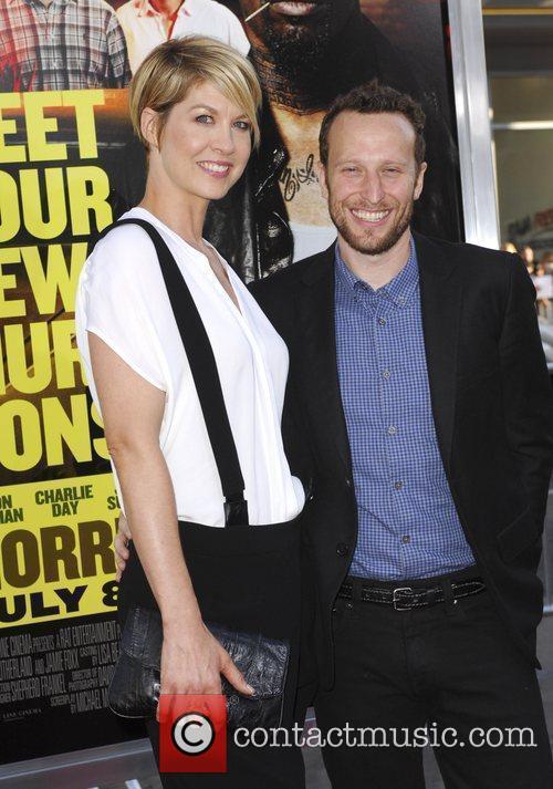 Jenna Elfman, Bodhi Elfman  Los Angeles Premiere...