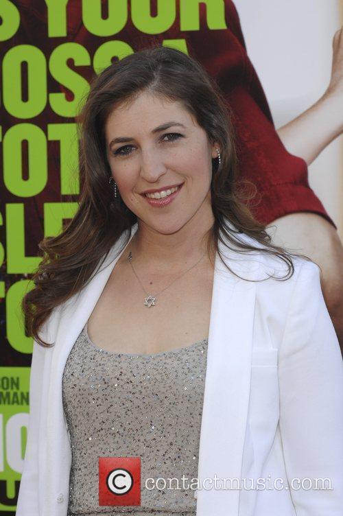 Mayim Bialik  Los Angeles Premiere of Warner...