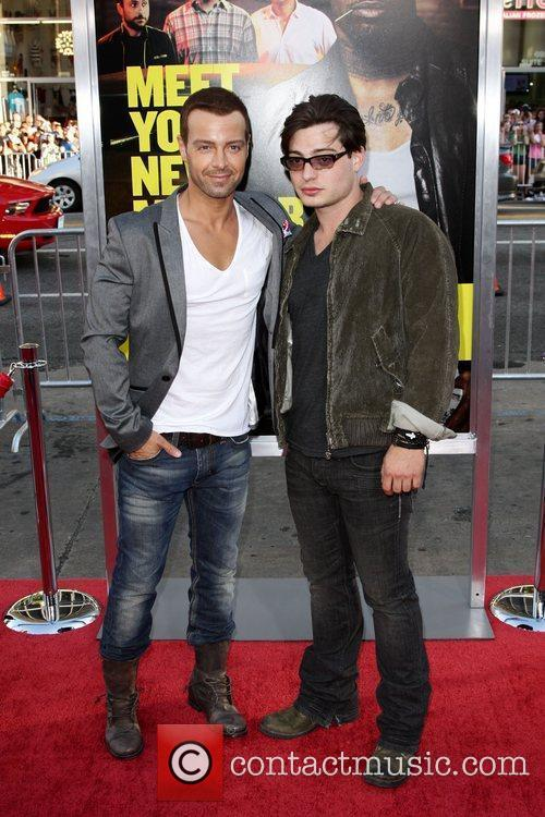 Joey Lawrence and Andrew Lawrence Los Angeles Premiere...