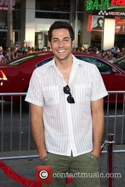Zachary Levi Los Angeles Premiere of Warner Bros....