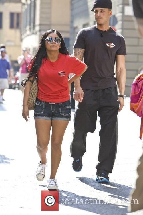 Snooki aka Nicole Polizzi and Pauly D from...