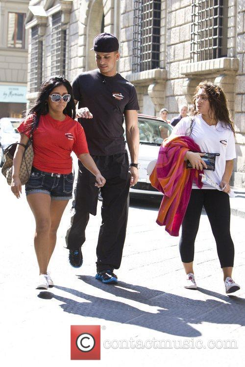 Nicole Polizzi, Jersey Shore and Paul Delvecchio 4