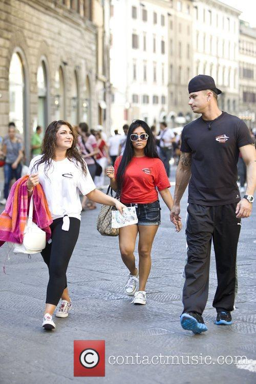 Nicole Polizzi, Jersey Shore and Paul Delvecchio 5