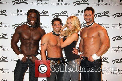 Jessa Lynn Hinton, Jeff Timmons, Chippendales arrive for...
