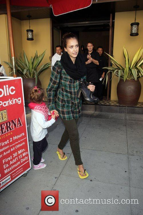 jessica alba and her daughter honor marie 3614397