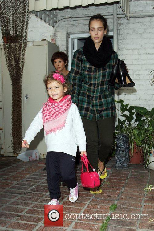 jessica alba and her daughter honor marie 3614415