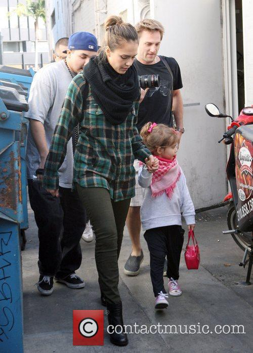 jessica alba and her daughter honor marie 3614427