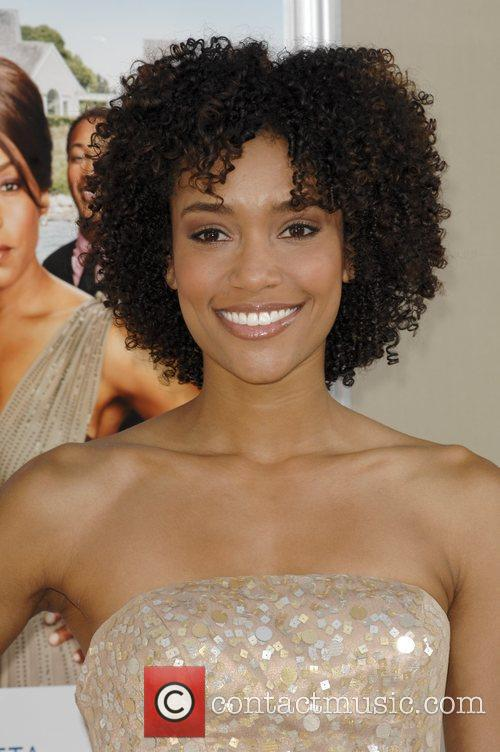 Annie Ilonzeh  Los Angeles premiere of 'Jumping...