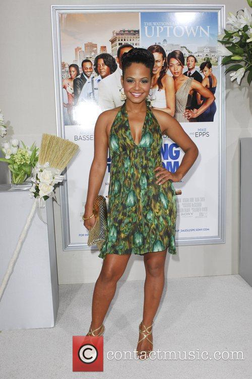 Christina Milian  Los Angeles premiere of 'Jumping...